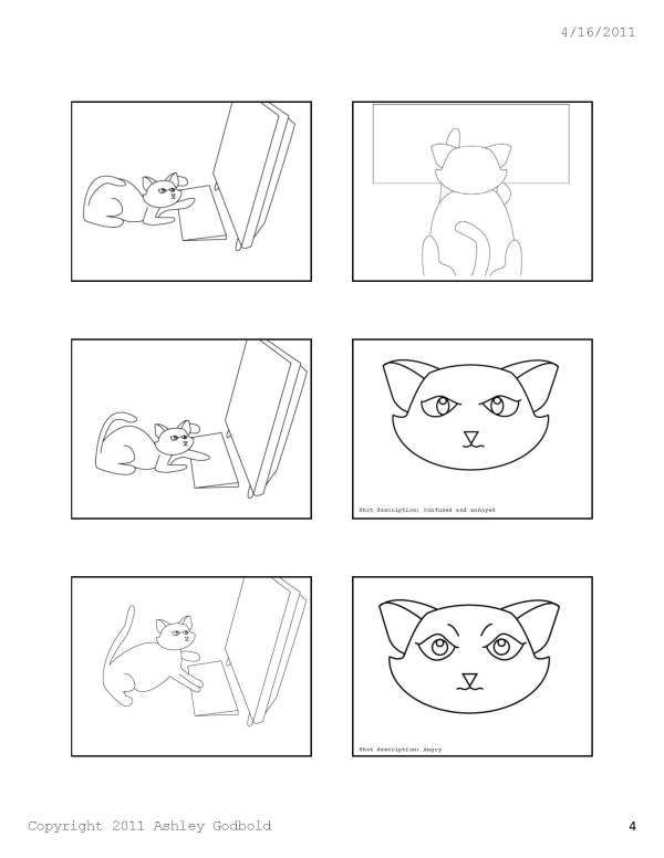 "GAD 212-Digital Storytelling-""Cat and Mouse"" Storyboard-Page 4"