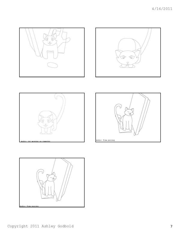"GAD 212-Digital Storytelling-""Cat and Mouse"" Storyboard-Page 7"