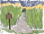 GAD 324-Corn Maze Concept Art