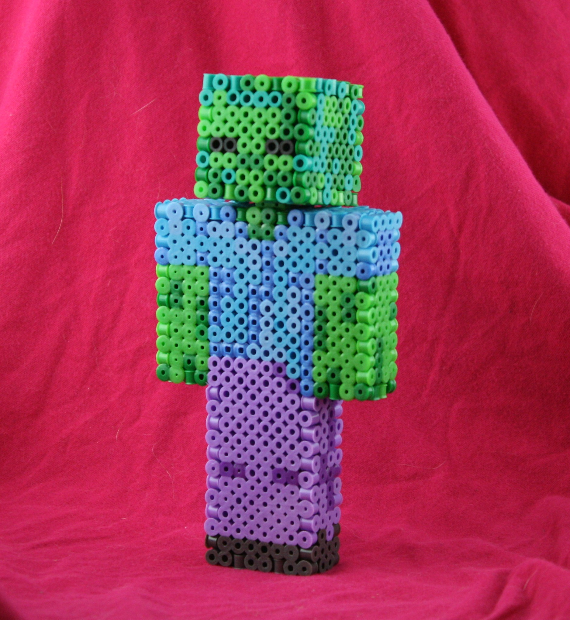 Mincraft Inspired Perler Projects Dr Ashley Godbolds Blog