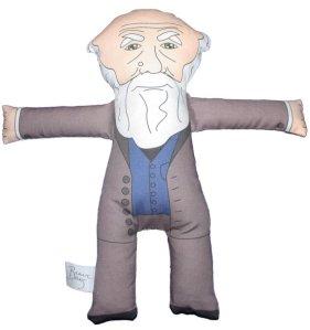 Darwin plush doll front