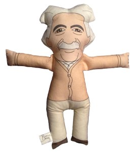 Albert Einstein Plush Doll (front)