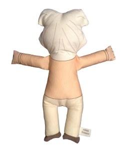 Albert Einstein Plush Doll (back)