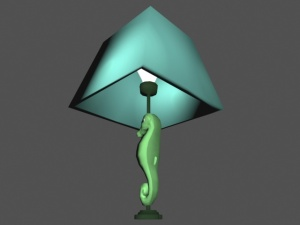 seahorse lamp 2