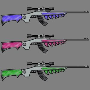 gun multicolor