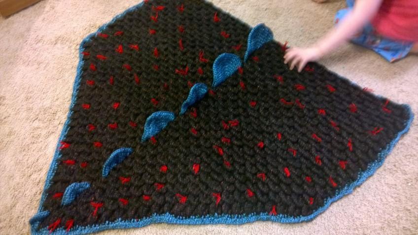 Crochet Dragon Blanket Dr Ashley Godbolds Blog